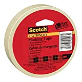 Tools & Hardware : Scotch(R) Home and Office Masking Tape, 3/4-Inch x 54.6 YardsTan (3436)