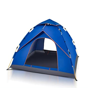 92bbefd69ff XG 3-4 automatic camping dinner breathable waterproof glass fiber rod tent   Amazon.co.uk  Sports   Outdoors