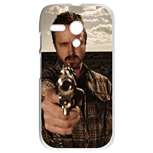 Breaking Bad Motorola G White Phone Case Gift Holiday Gifts Souvenir Halloween gift Christmas Gifts TIGER154835