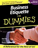 Business Etiquette, Sue Fox, 0764552821