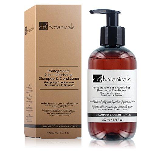 Dr Botanicals Pomegranate 2-in-1 Nourishing Shampoo & Conditioner from Dr Botanicals
