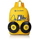 John Deere Boys' Toddler Backpack, Yellow
