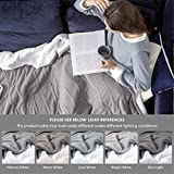 Bedsure Heated Blanket Throw Electric - with 5 Heat