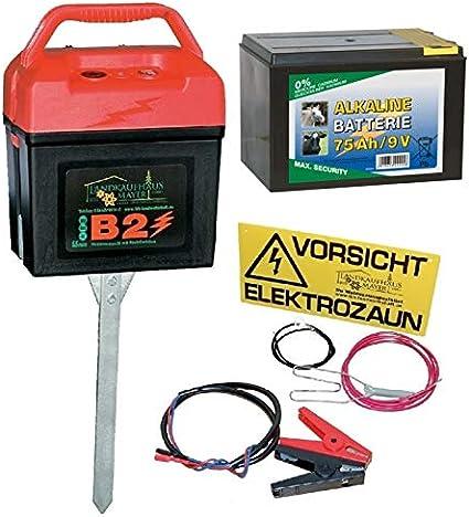 Elektrozaun Weidezaun Batteriegerät Pferdezaun B 5000 Weidezaungerät 9 Volt