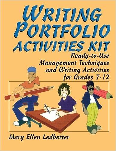 Amazon.com: Writing Portfolio Activities Kit: Ready-to-Use ...