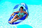 SwimWays Spring Float Recliner with Canopy - Swim