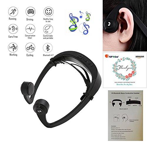 Bone Conduction Headphones,Vipwind Bone Conduction Wireless
