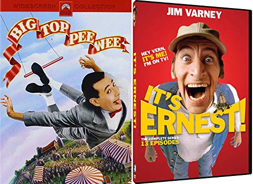 Southern Bumpkin Ernest DVD Pack: Ernest Hey Vern! it's Me on TV + Big Top Pee- Wee My Circus Movie