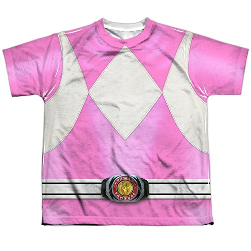 Youth: Power Rangers- Pink Ranger Kids T-Shirt Size YS ()