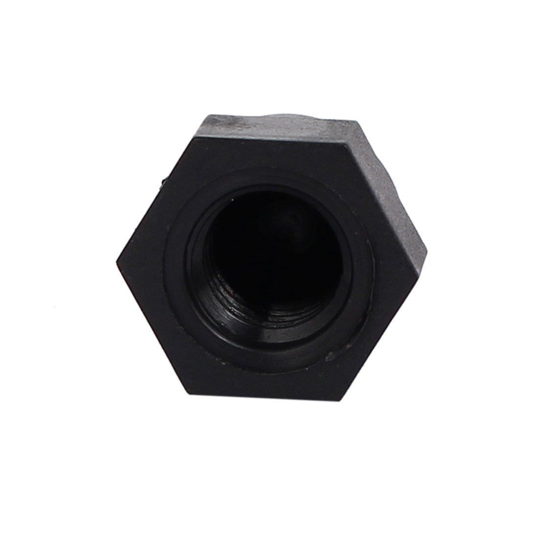 gazechimp 10 Pcs M10 17x20mm Black Dome Bolt Nut Protection Cap Cover for Hexagon Screw