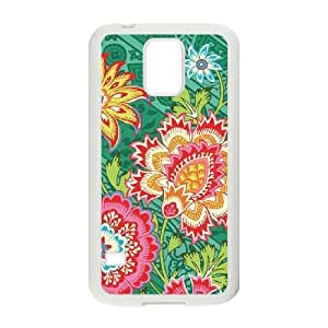 Heirloom Jade Samsung Galaxy S5 Cell Phone Case White Delicate gift AVS_554002