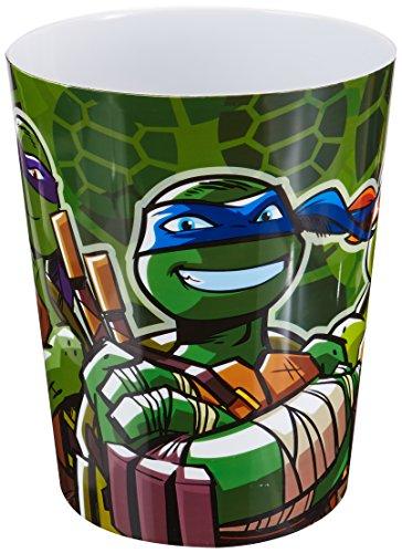 Nickelodeon Teenage Mutant Ninja Turtles Camo Waste Can]()