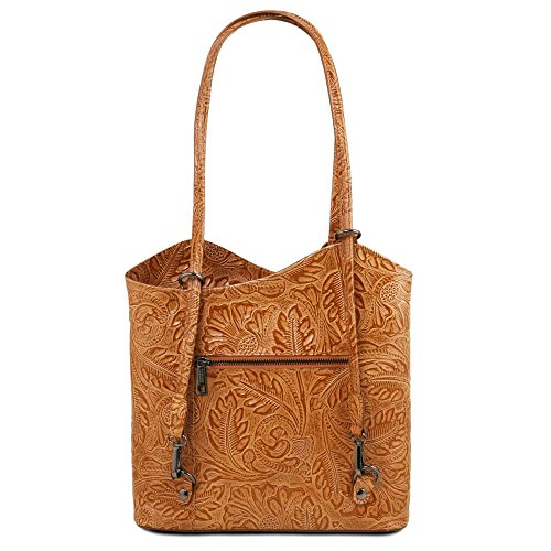 Cognac Leather Patty Dos Tuscany À En Sacs tl141676 Cuir fqPPWOcn