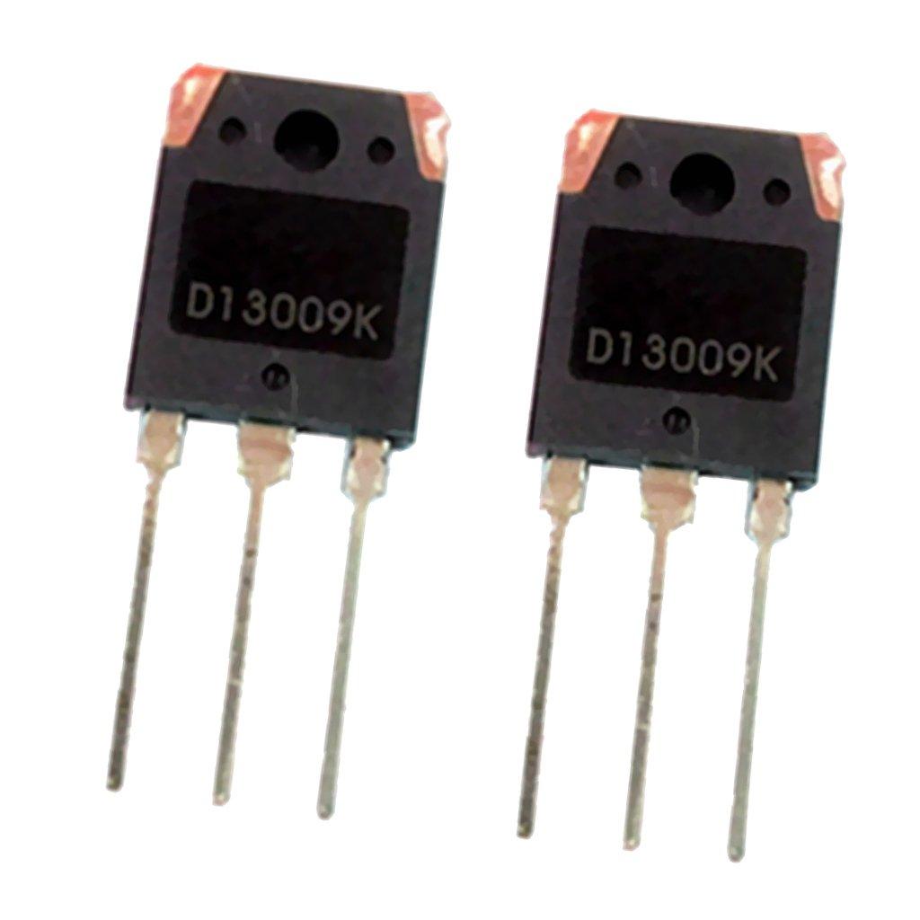 MagiDeal D13009K NPN Transistor De Potencia 100W 12A Transistor De Alto Voltaje P-Channel TO-3P