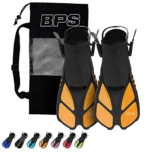 BPS Short-Blade Adjustable Swim