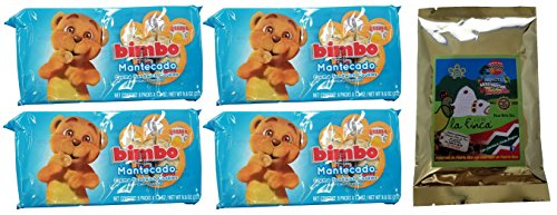 - Bimbo Creme Sandwich Cookies Variety 4 Packs, 8 Packets Of Cookies Each, Includes 2 Ounce Cafe La Finca Bag (Mantecado)