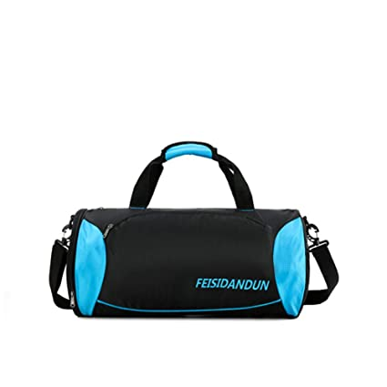 2513a5edfa23 Zisen 20 quot  Sport Gym Bag with Shoes Compartment Waterproof Fitness  Travel Duffel Bag for Women