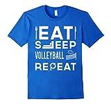 Eat Sleep Volleyball Repeat T-Shirt