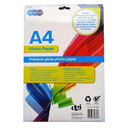 a4プレミアムフォト用紙 – 光沢 – 10シート – 11.7 X 8.3   B01EGBQ4X0