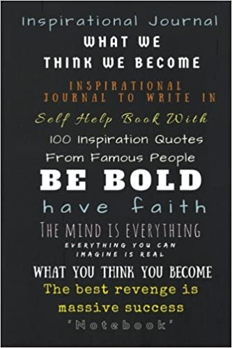 Inspirational Journal Inspirational Journal To Write In Self Help Extraordinary Quotes Journal