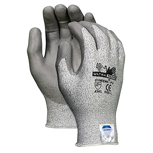 MCR Safety UltraTech Dyneema Gloves, X-Large (24 - Dyneema Tech Ultra Gloves