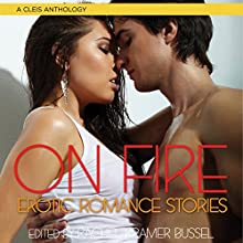 On Fire: Erotic Romance Stories Audiobook by Rachel Kramer Bussel Narrated by Rose Caraway