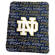 Logo Brands NCAA Notre Dame Fighting Irish Classic Fleece, Navy