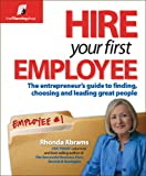 Hire Your First Employee, Rhonda Abrams, 1933895136