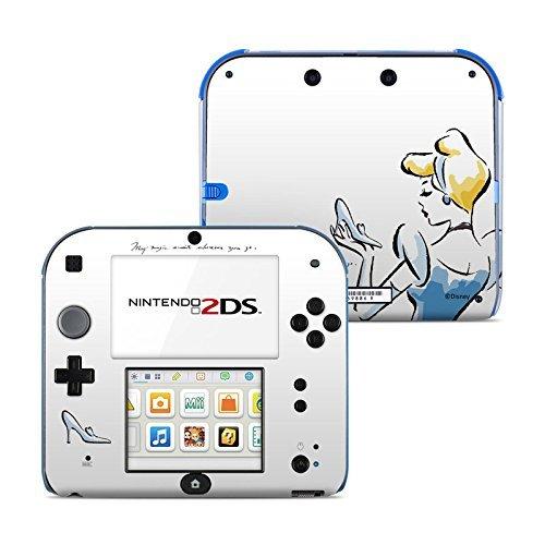 Satin Cinderella (Cinderella Sketch Design Protective Decal Skin Sticker for Nintendo 2DS (2013) (Matte Satin) by MyGift)