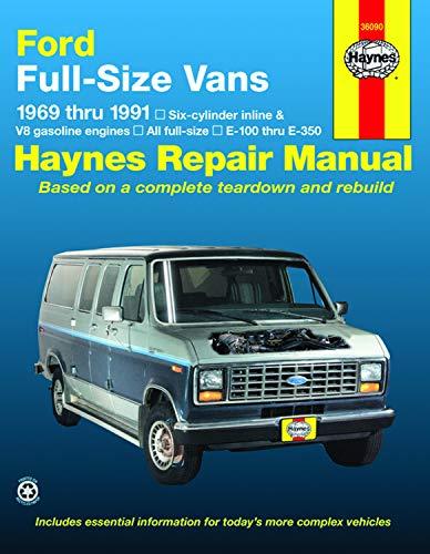 Ford Full-Size Vans, 1969-1991 (Haynes Repair Manual) (Haynes Repair Manuals) (Best Full Size Van)