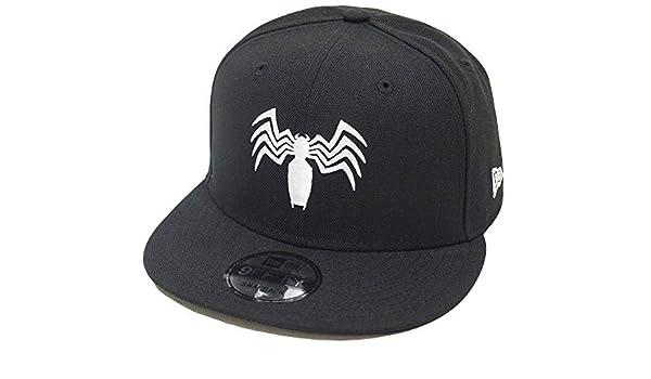 473259697156e Amazon.com  New Era Venom Logo Black Snapback Cap 9fifty 950 OSFA Basecap  Limited Edition  Clothing