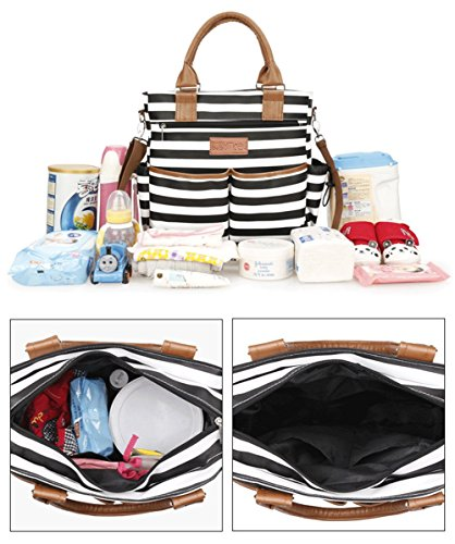Diaper Bag for Baby Diaper Bag Tote with Changing Pad with Changing Pad Stroller Straps, and Shoulder Strap Baby Bags