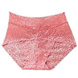 Lumumi_Lingerie Sexy Panties for Women for Sex,Womens Sexy Panties Hipster Lace Underwear Low Waist Briefs (One Size, Watermelon Red)