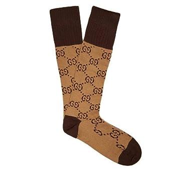caf289233ade (グッチ) Gucci レディース インナー・下着 ソックス GG-intarsia cotton-blend socks