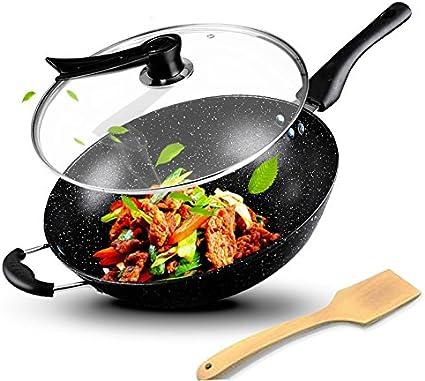 Sartén/vajilla/non-lampblack/wok wok/cocina gas cocina común ...