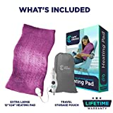 Cure Choice Large Electric Heating Pad for Back