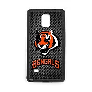 Onshop Custom Cincinnati Bengals Personalzied Phone Case Laser Technology for Samsung Galaxy Note 4