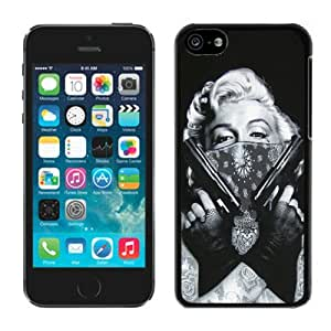 Customized Tattooed Marilyn Monroe Black Generation ipod touch 5 ipod touch 5 Case