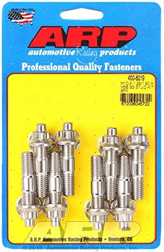New mail order ARP 400-8019 M10 Outlet SALE x 1.25 1.50 Stud Broached 55mm Kit Piece 8