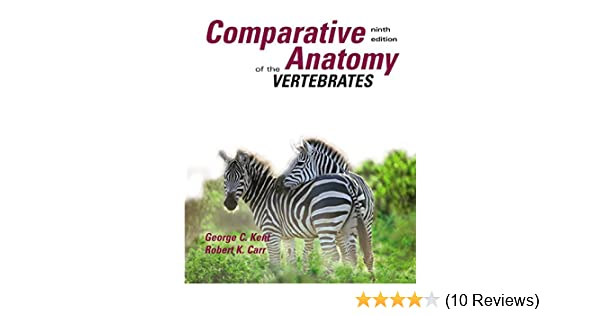 Amazon Comparative Anatomy Of The Vertebrates 9780073038698