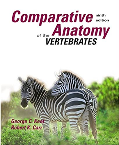 Amazon Comparative Anatomy Of The Vertebrates 9780073038698