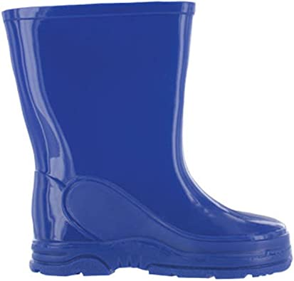 Paw Patrol Childrens Wellington Boots Blue Boys Waterproof Wellies Size 4-10