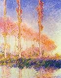 Monet Art Poster - Poplars [2] 30.5 X 24