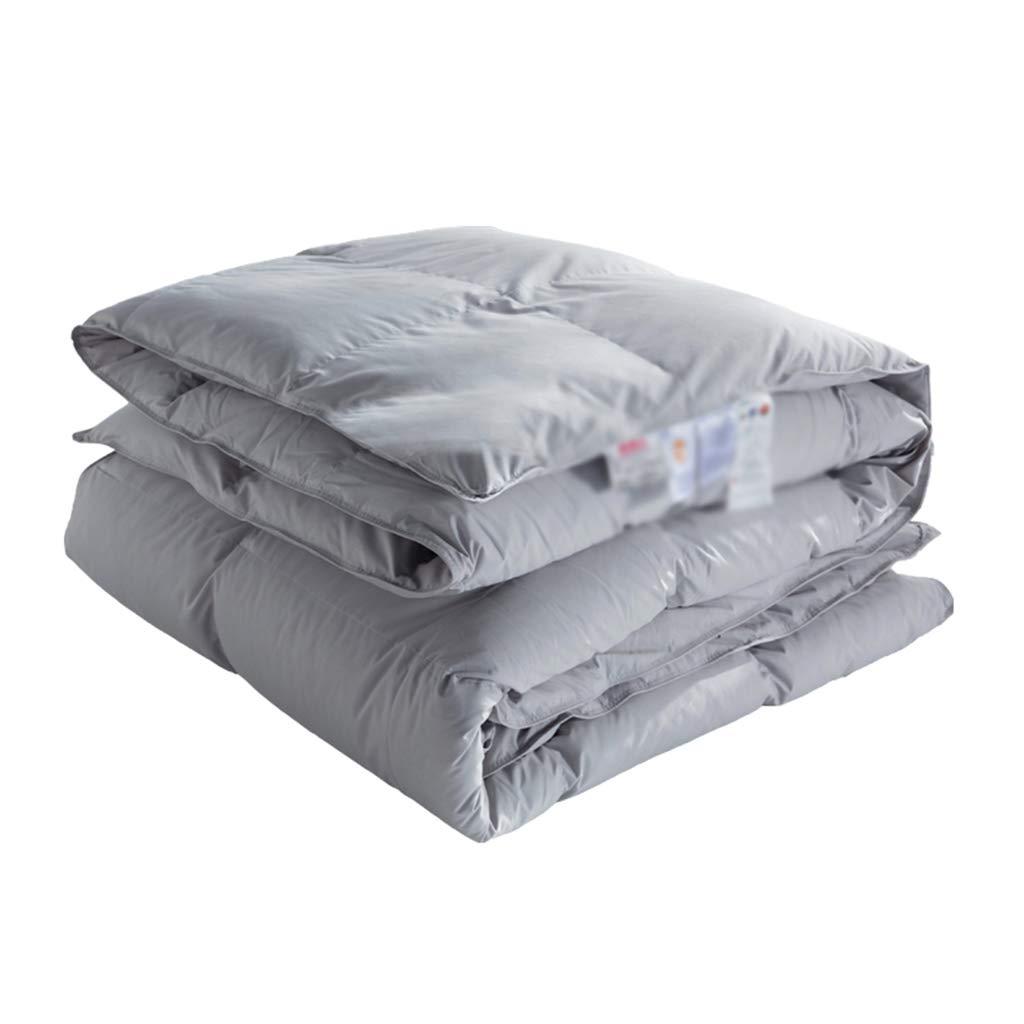 QFF-暖かく保つ 多機能掛け布団、暖かい厚い保つ快適なスクエアベッドルームホテルソフトコールドプロテクションエアコンキルト エアコンキルト (色 : Gray, サイズ さいず : 180*200cm) B07KZRLHNC Gray 180*200cm