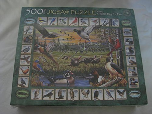 American Expeditions 500 Piece Jigsaw Puzzle for the Modern Day Explorer