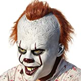 Scary Clown Mask Joker Cosplay Costume Latex Mask - Best Reviews Guide