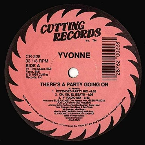 There's A Party Going On [12 INCH VINYL SINGLE] (Party Cutt)