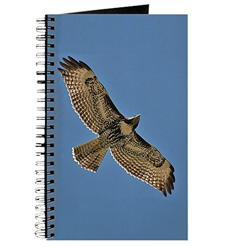 (CafePress Red-Tailed Hawk Journal Spiral Bound Journal Notebook, Personal Diary, Lined)