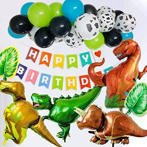 マジックスクウェア 誕生日 デコレーション 恐竜 バルーン 風船 男の子 バースデー アニバーサリー ガーランド 恐竜 誕生日 パーティー 装飾 子供 パーティー用品 ハッピーバースデー バナー 風船 HAPPY BIRTHDAY ベビーシャワー 誕生日飾り付け 装飾