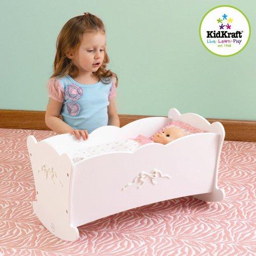 KidKraft Tiffany Bow Lil' Doll Cradle toy gift idea (Kidkraft Cradle)